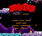 Jelly Boy SNES Title screen