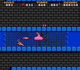 Jelly Boy SNES Submarine power-up in an underwater bonus level