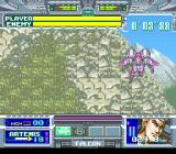 Battle Clash SNES This level even goes vertically (level 4)