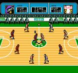 Ultimate Basketball  NES The tip off