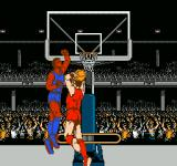 Ultimate Basketball  NES During certain types of shots the game goes into a close-up screen.