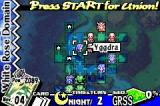 Yggdra Union: We'll Never Fight Alone Game Boy Advance Battlefield
