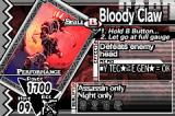 Yggdra Union: We'll Never Fight Alone Game Boy Advance Bloody Claw
