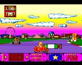 Bump 'N' Burn Amiga Candyworld - a big candy on the road