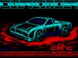 Overlander ZX Spectrum Loading screen