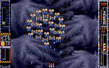Taito's Super Space Invaders Atari ST Enemies flying in formation