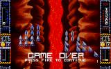 Taito's Super Space Invaders Atari ST Game over
