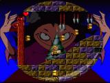 The Addams Family: Pugsley's Scavenger Hunt SNES Nice level with deadly falling spears