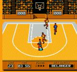 Roundball: 2-On-2 Challenge NES Dribbling the ball