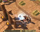 Titan Quest Windows Killing some scorpion king guy. Nothing personal, he's just between me and my next quest.