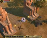 Titan Quest Windows I'm so irresistible, that even this ugly flying witch drops dead when I enter the city.