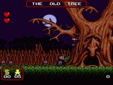 The Addams Family SNES The Old Tree