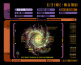 Star Trek: Voyager - Elite Force Windows Main menu