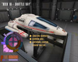 "Star Trek: Voyager - Elite Force Expansion Pack Windows Loading ""Deck 10 - Shuttle Bay""."
