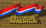 Discovering America DOS Title screen