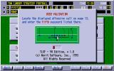 Tom Landry Strategy Football Deluxe Edition DOS The good ol' copy protection.