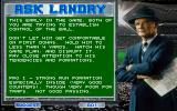 Tom Landry Strategy Football Deluxe Edition DOS Whenever you're insecure about what to do, ask Mr. Landry!