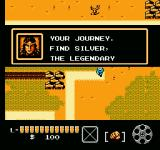 The Lone Ranger NES Tonto telling you your objective