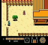 The Lone Ranger NES Entering a town