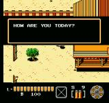 The Lone Ranger NES Chatting with townsfolk