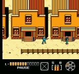 The Lone Ranger NES Shooting at an enemy