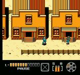 The Lone Ranger NES The bullet hits the enemy