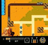 The Lone Ranger NES Walking into an enemy will enter you into an area battle