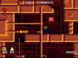 The Addams Family SNES In the furnace