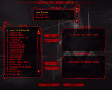 Star Trek: Klingon Academy Windows Quick Battle setup screen
