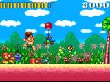 Super Adventure Island SNES I don't need no balloons, pal!