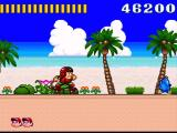 Super Adventure Island SNES Vrrrrrrum! On a skateboard!