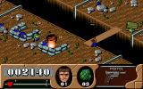 Arnie Savage: Combat Commando DOS Use grenades to blow up MG nests.
