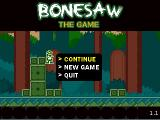 Bonesaw Windows Title screen.