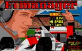 F.1 Manager Atari ST Title Screen