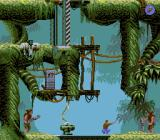 Flashback: The Quest for Identity DOS Jungle - Let's kill the one on the right first!