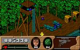 Arnie Savage: Combat Commando DOS Guards in watchtowers throw grenades at you.