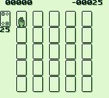 Solitaire FunPak Game Boy Cards layout for Poker