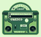 Hatris Game Boy Select a difficulty level.