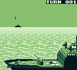 Radar Mission Game Boy During an attack short animations are shown.