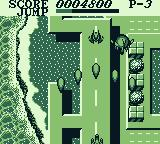 Aerostar Game Boy Level one: coastal street and V-shot