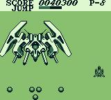 Aerostar Game Boy Boss battle