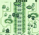 Pop'n TwinBee Game Boy Level five: Shoot the bell, the darker, the more bonus points you will get