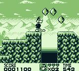 Looney Tunes Game Boy Collect gems for points.
