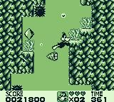 Looney Tunes Game Boy The Abyss: ducks can dive.