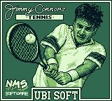 Jimmy Connors Tennis Game Boy Title screen