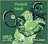 Jimmy Connors Tennis Game Boy Alternate title: Yannick Noah starring the game