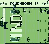 Tecmo Bowl Game Boy Touchdown - this defense sucks.