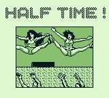 Tecmo Bowl Game Boy Half time intermission ...