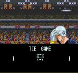 Pro Sport Hockey SNES A game ends in a tie