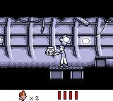 Tintin in Tibet Game Boy Inside the wreckage